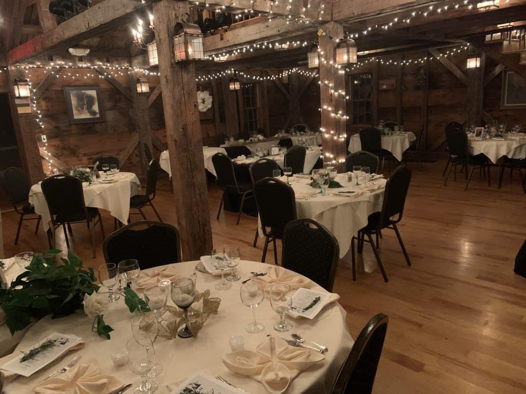 Recent Wedding Reception